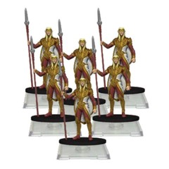 D&D Attack Wing Wave One Sun Elf Guard Troop Expansion Pack