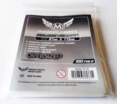 100 ct Magnum Oversized Dungeon Card Sleeves