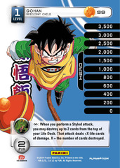 Gohan - Resilient Child - 9 - High Tech Foil