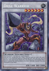 Drill Warrior - LC5D-EN038 - Secret Rare - 1st Edition