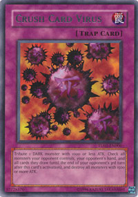 Crush Card Virus - TU01-EN006 - Rare - Promo Edition