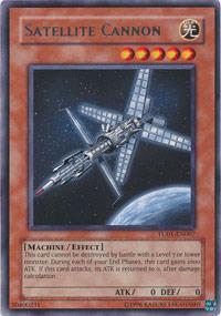 Satellite Cannon - TU01-EN007 - Rare - Promo Edition