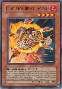 Gladiator Beast Laquari - TU01-EN017 - Common - Promo Edition