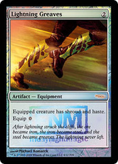 Lightning Greaves (FNM Foil) on Channel Fireball