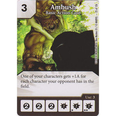 Ambush - Basic Action Card (Card Only)