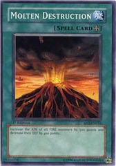Molten Destruction - SD3-EN016 - Common - 1st Edition