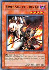 Armed Samurai - Ben Kei - SD5-EN017 - Common - 1st Edition on Channel Fireball