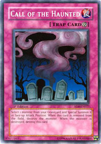 Call Of The Haunted SD4 - SD4-EN027 - Common - 1st Edition
