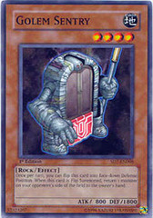 Golem Sentry - SD7-EN008 - Common - 1st Edition