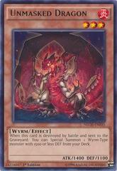 Unmasked Dragon - NECH-EN035 - Rare - 1st Edition