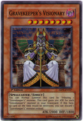 Gravekeeper's Visionary - ABPF-EN027 - Super Rare - 1st Edition