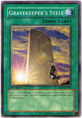 Gravekeeper's Stele - ABPF-EN056 - Common - 1st Edition