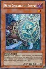 Djinn Disserere of Rituals - ABPF-EN087 - Secret Rare - 1st Edition