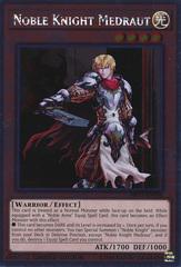 Noble Knight Medraut - NKRT-EN006 - Platinum Rare - Limited Edition on Channel Fireball