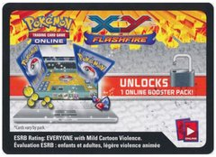 XY Flashfire Booster Pack Code