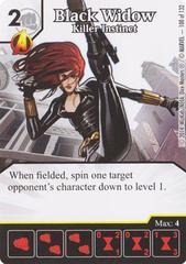 Black Widow - Killer Instinct (Die & Card Combo)
