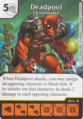 Deadpool - Chiyonosake (Die & Card Combo)