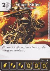 Ghost Rider - Johnny Blaze (Die & Card Combo)