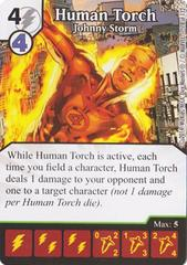 Human Torch - Johnny Storm (Die & Card Combo)