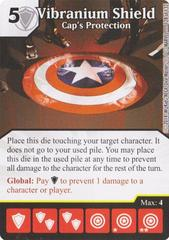 Vibranium Shield - Cap's Protection (Die & Card Combo)