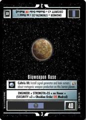 Bioweapon Ruse