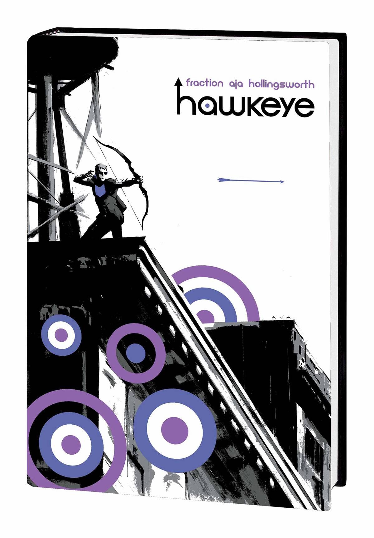 HAWKEYE BY MATT FRACTION AND DAVID AJA OMNIBUS HC