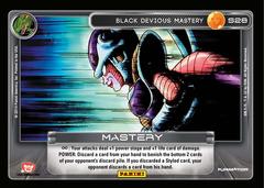Black Devious Mastery S28 - Rainbow Prism Foil