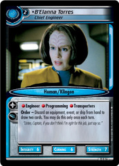 B'Elanna Torres, Chief Engineer