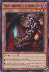Alich, Malebranche of the Burning Abyss - NECH-EN083 - Rare - Unlimited Edition