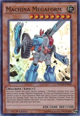 Machina Megaform - NECH-EN036 - Super Rare - Unlimited Edition