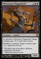 Phyrexian Plaguelord on Ideal808
