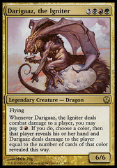 Darigaaz, the Igniter on Channel Fireball