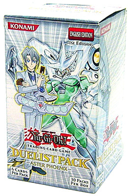 Duelist Pack 5: Aster Phoenix 1st Edition Booster Box