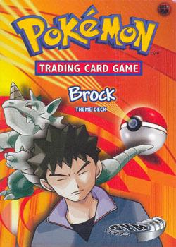 Brock Gym Heroes Theme Deck