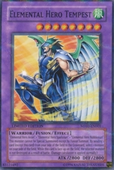 Elemental Hero Tempest - MF02-EN001 - Parallel Rare - Promo Edition