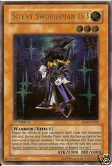 Silent Swordsman LV3 - RDS-EN009 - Ultimate Rare - 1st Edition