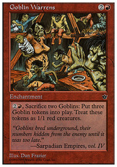 Goblin Warrens on Channel Fireball