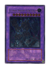 Ultimate Ancient Gear Golem - LODT-EN043 - Ultimate Rare - 1st Edition