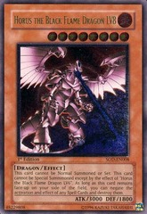 Horus the Black Flame Dragon LV8 - Ultimate - SOD-EN008 on Ideal808