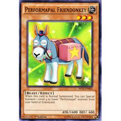 Performapal Friendonkey - SECE-EN003 - Common - 1st Edition