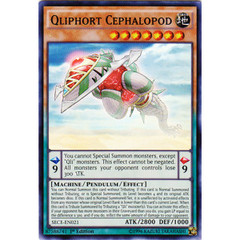 Qliphort Cephalopod - SECE-EN021 - Super Rare - 1st Edition