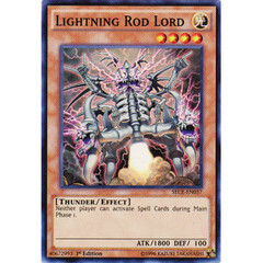 Lightning Rod Lord - SECE-EN037 - Super Rare - 1st Edition