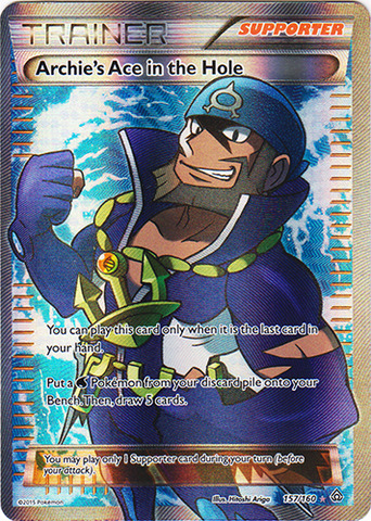 Archies Ace in the Hole - 157/160 - Full Art