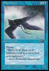 Storm Crow (Flying Left)