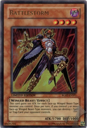 Battlestorm - RGBT-ENSP1 - Ultra Rare - Limited Edition