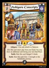 Ashigaru Conscripts