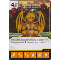 Baby Dragon - Cute but Dangerous (Card Only)