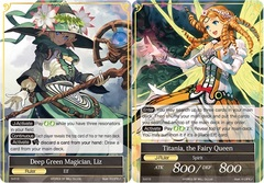 Deep Green Magician, Liz // Titania, the Fairy Queen - S-010 - S