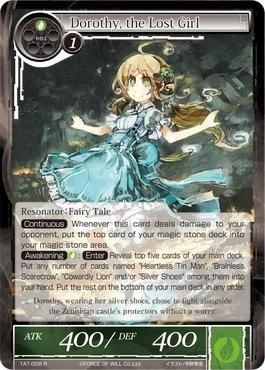 Dorothy, the Lost Girl - TAT-058 - R