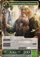 Alberich, the King of Elemental - 2-078 - SR